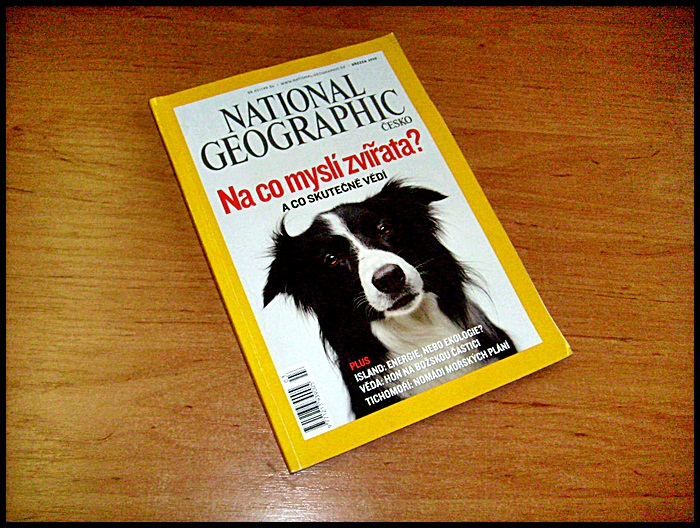 National Geographic březen 2008