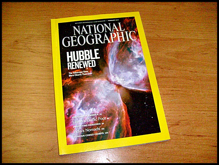 National Geographic february 2010