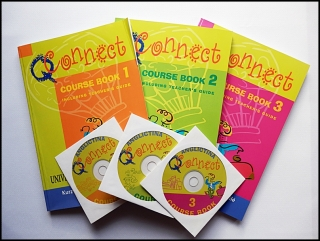 Connect, Course Book 1,2,3 - Including Teacher´s Guide